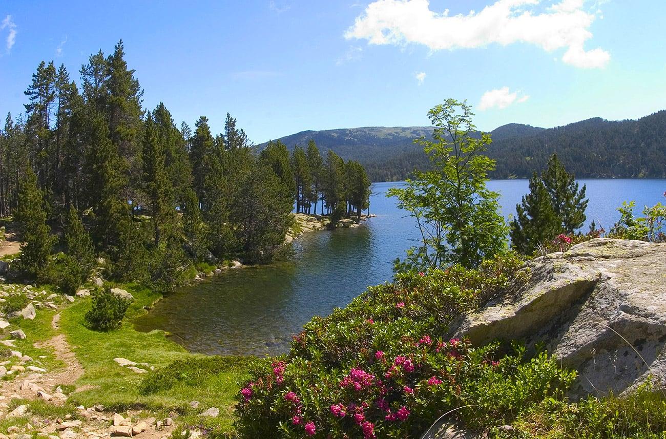 Font-Romeu lac